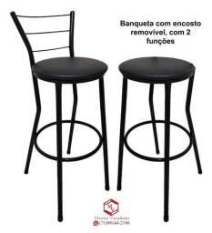 Banqueta bistrô Alta entrega em domicilio (produto novo loja virtual)