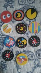 Tazos coleção Pac Man 40 anos