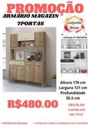 Armário Magazin 7 portas