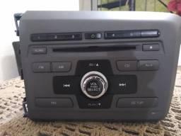 Rádio Central multimídia Civic 2012 a 2016 Original Honda novo.