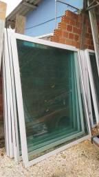 Porta de vidro 10mm duplo
