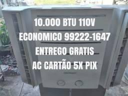 Título do anúncio: Ar Condicionado 10.000 Btu 110V Economico Entrego Agora Gratis Garantia Ac Cartão 5x Pix