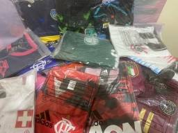 LOTE de Camisas Premium Nacional Variadas ( 40 Camisas )