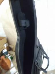 Título do anúncio: Capa Violão Clássico Bag Lt Luxo Couro Sintético Solid Sound