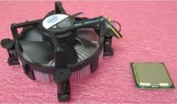 Título do anúncio: Core 2 duo E7500 + cooler
