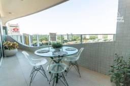 Título do anúncio: Apartamento com 3 dormitórios à venda, 164 m² por R$ 1.225.000,00 - Guararapes - Fortaleza