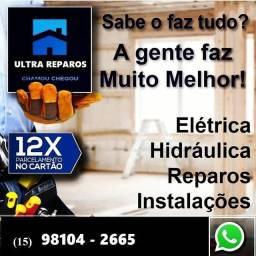 Ultra Reparos Manutenção Elétrica e Hidráulica