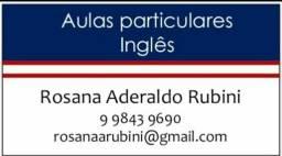 Aulas Particulares de Inglês (aulas individuais)