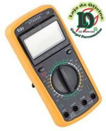 Título do anúncio: Multímetro Digital Profissional Com Beep Eda-9kf