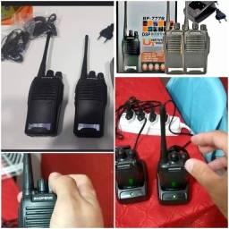 RÁDIO COMUNICADOR transmissor walk talk BF777S.  GARANTIA é nota . Receba hoje .