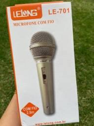 Título do anúncio: microfone de fio