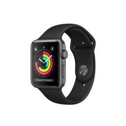 Apple Watch SE, Caixa cinza-espacial de alumínio 44mm ? Pulseira Esportiva GPS e Cellular.
