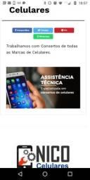 Concerta-Se Celular Com o Melhor Preço da Região Android iOS Todos os Modelos