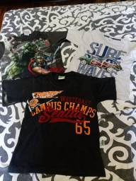 Três camisas