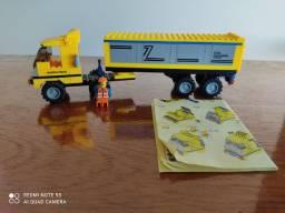 Brinquedo de montar Xalingo - Caminhão industrial