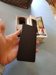 Celular Galaxy A71 128 GB Completo