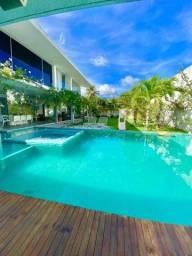 Casa alto padrão em Marechal Deodoro com 4 suítes e home cine