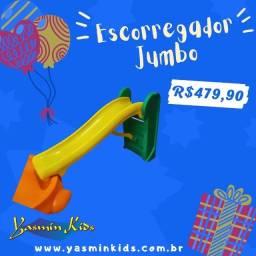 Escorregador 3 degraus JumBO muito reforçado em 12x sem juros! Peça já!!