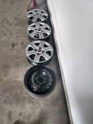 Vendo rodas originais Fiat aro 13