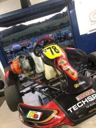 Kart techspeed 2016 com motor F4 21hp
