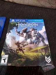 2 Jogos PS4 PlayStation 4 Horizon, Uncharted