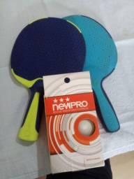 Kit raquete tenis de mesa