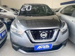 Título do anúncio: Nissan Kicks 2020, completo, ipva 2021, entrada+48x 1900