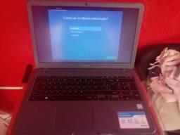Notebook Samsung i3 novo com nota
