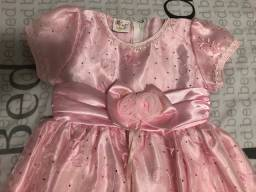 Vestido de festa meninas 2 anos