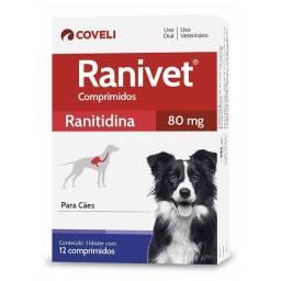 Ranivet 80mg para Cães - 12 Comprimidos