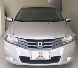 Honda City Ex Automático+Couro Novo!!