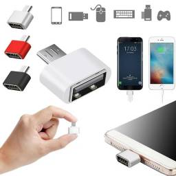 Título do anúncio: Adaptador Conversor Micro USB para USB