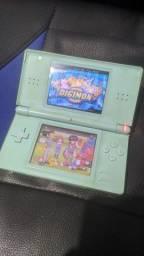 Nintendo DS lite azul + R4