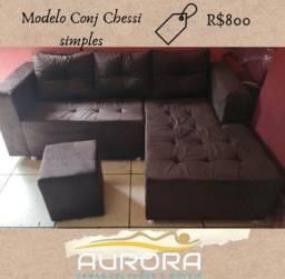 Título do anúncio: sofá novinho apronta entrega##***