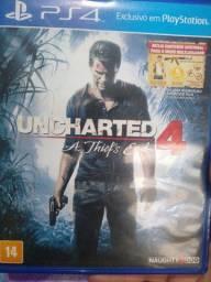Vendo Uncharted 4 semi novo