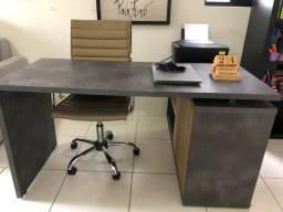 Título do anúncio: Mesa de trabalho + cadeira - Home office