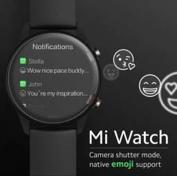 Xiaomi Mi Watch, Lançamento! GPS, Oxímetro, Amoled... Versão Global!