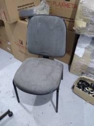 Título do anúncio: Cadeira Diretor Cinza fixa