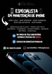 Troca de tela/bateria em iPhone. (Garantia)