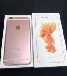 iPhone 6s ouro Rosa 128GB sem marcas de uso