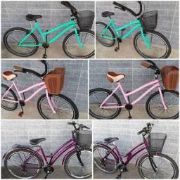 Bicicleta feminina (produto novo)