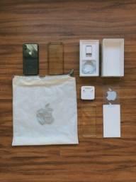 iPhone X 256 GB Preto (completo de tudo!)