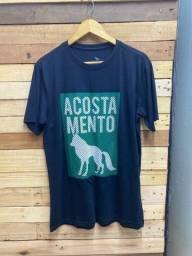 Promoção cada Camiseta R$ 28,00, à vista