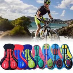 Título do anúncio: Almofada Gel 3D para Short de Ciclismo