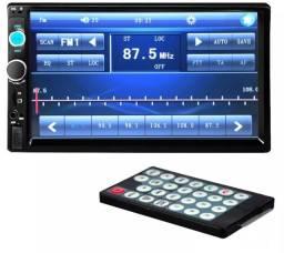 Central Multimídia Mp5 Usb Bluetooth  Espelhamento