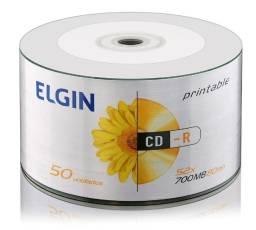 Título do anúncio: Mídias virgens para gravação, DVD/CD, pacote com 50 unidades.