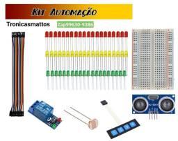 Kit automacao Arduino,pic, raspberry pi pico