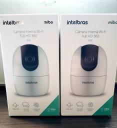 Câmera de Vídeo iM4 360º Interna Inteligente Intelbras Wi-Fi Full HD - Novo Lacrado