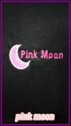 Camiseta exclusiva grife Pink Moon