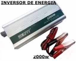 Inversor Transformador Conversor 2000w 12v P/ 220v